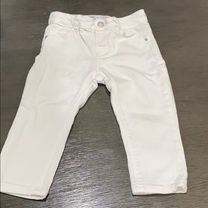 White Zara baby pants